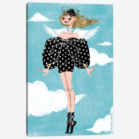 Celine Sky 3-Piece Canvas #MKG5} by Minjee Kang Art Print