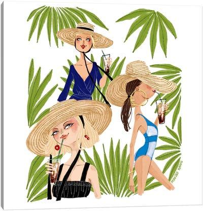 Summer Vibe Canvas Art Print