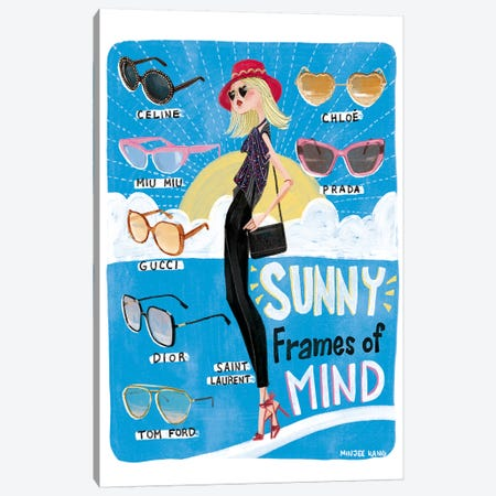 Sunny Frames of Mind Canvas Print #MKG71} by Minjee Kang Art Print