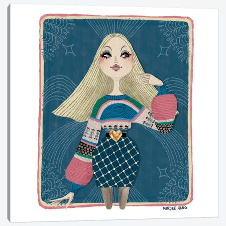 Tarot Canvas Print #MKG72} by Minjee Kang Canvas Art Print