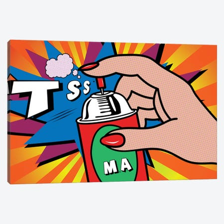Tss Canvas Print #MKH111} by Mark Ashkenazi Canvas Art Print