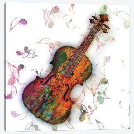 Violin Lessons I Canvas Print #MKH112} by Mark Ashkenazi Canvas Art Print