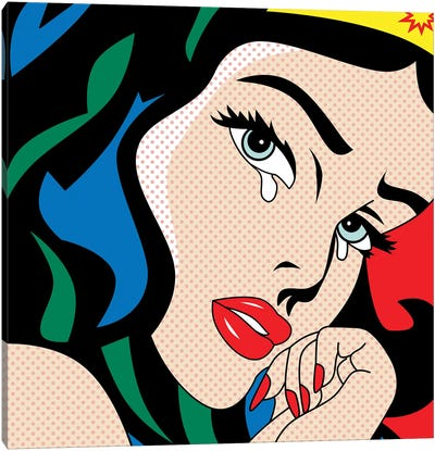 Wonder Woman Canvas Art Print