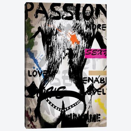 Words IV Canvas Print #MKH121} by Mark Ashkenazi Canvas Wall Art