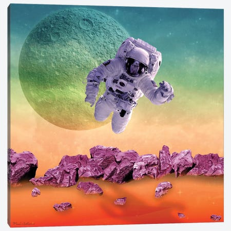 Space II Canvas Print #MKH125} by Mark Ashkenazi Canvas Print