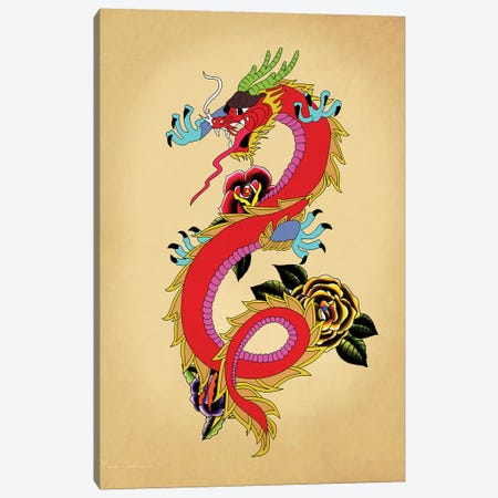 Dragon III Canvas Print #MKH126} by Mark Ashkenazi Canvas Print