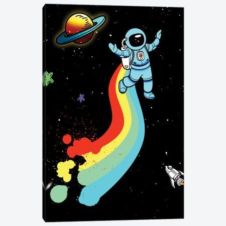 Space Rainbow Canvas Print #MKH128} by Mark Ashkenazi Canvas Art