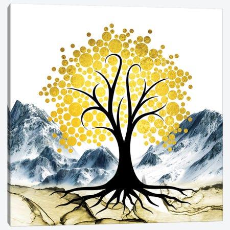 Gold Tree II Canvas Print #MKH132} by Mark Ashkenazi Art Print