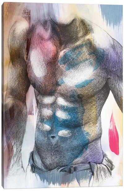 Male Painting Canvas Art Print