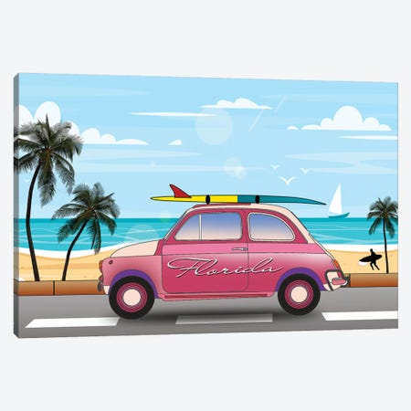 Summer In Florida Canvas Print #MKH135} by Mark Ashkenazi Canvas Art