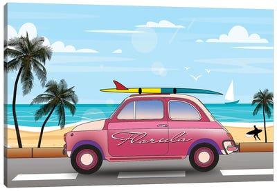 Summer In Florida Canvas Art Print