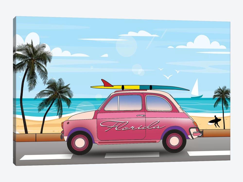 Summer In Florida by Mark Ashkenazi 1-piece Canvas Art