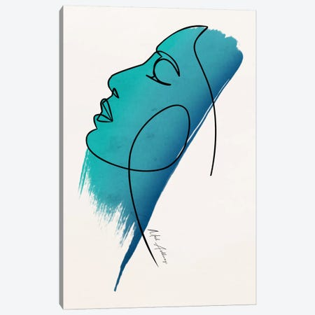 The Face Canvas Print #MKH138} by Mark Ashkenazi Art Print