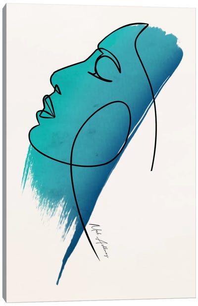 The Face Canvas Art Print