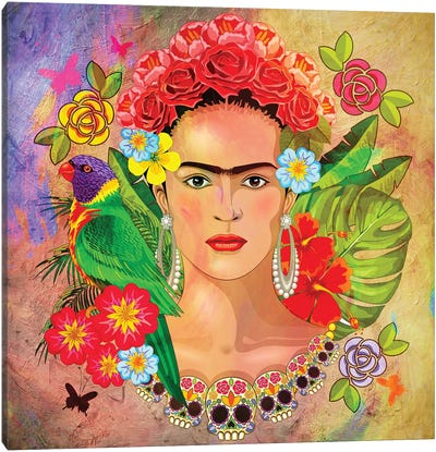 Frida Kahlo 3 Canvas Art Print