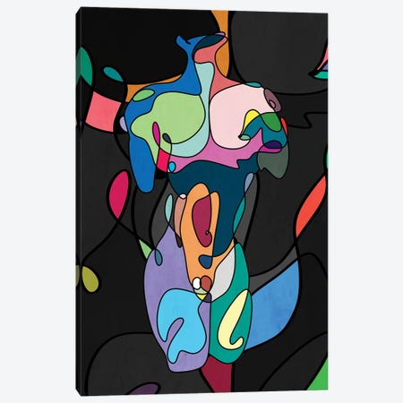 So Many Colors Canvas Print #MKH147} by Mark Ashkenazi Art Print