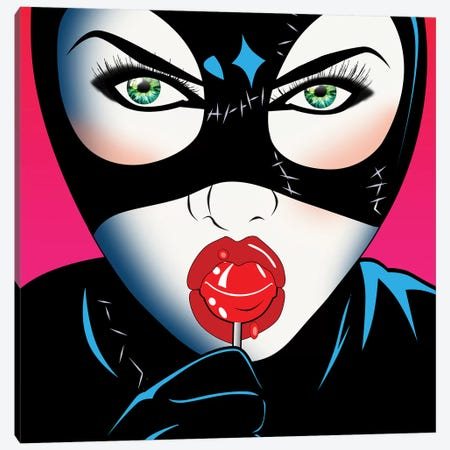 Catwoman III Canvas Print #MKH14} by Mark Ashkenazi Canvas Print