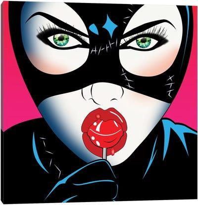 Catwoman III Canvas Art Print