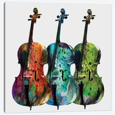 Cellos Canvas Print #MKH17} by Mark Ashkenazi Canvas Print
