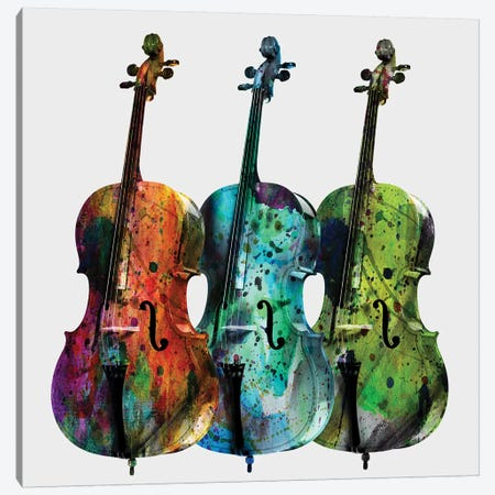 Cellos Canvas Print #MKH17} by Mark Ashkenazi Canvas Print