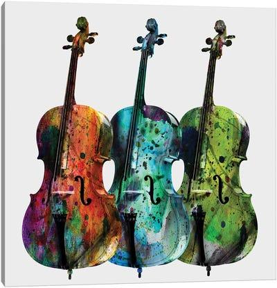 Cellos Canvas Art Print