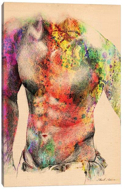 Abstract Body II Canvas Art Print