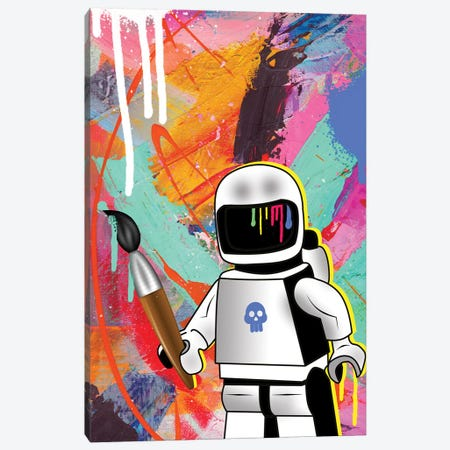 Space Painting Canvas Print #MKH22} by Mark Ashkenazi Art Print