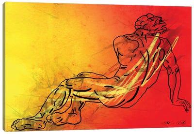 David Canvas Art Print