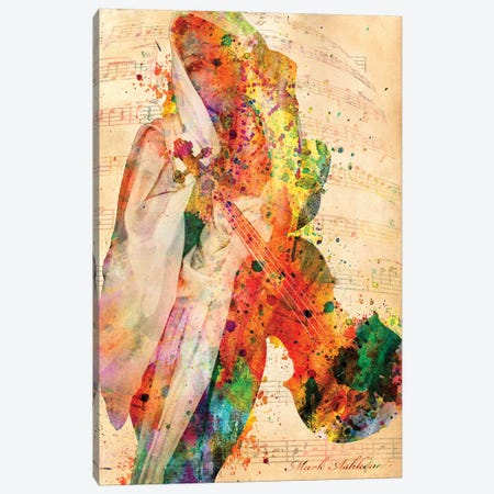 El Violin Canvas Print #MKH26} by Mark Ashkenazi Canvas Art