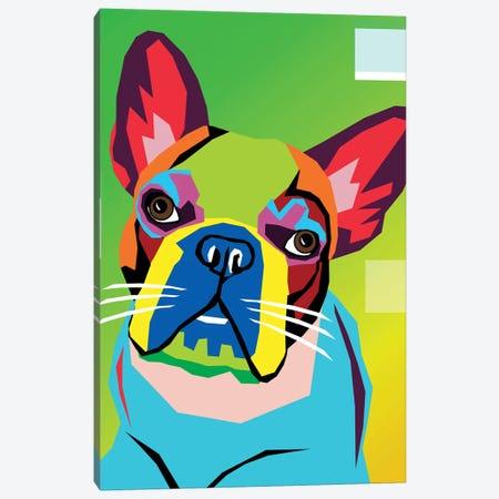 French Bulldog Canvas Print #MKH30} by Mark Ashkenazi Canvas Artwork