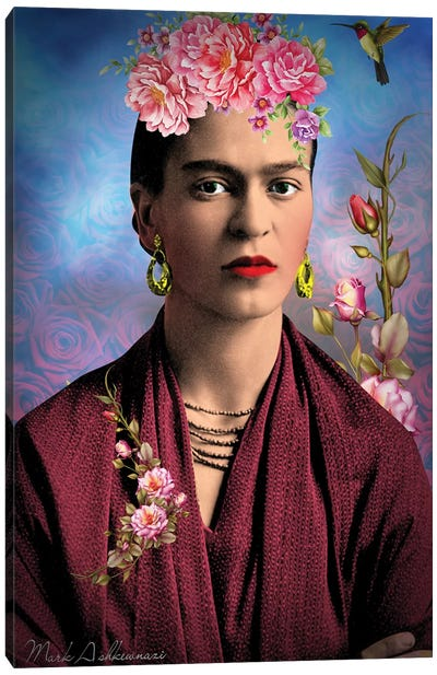 Frida Kahlo M Canvas Art Print