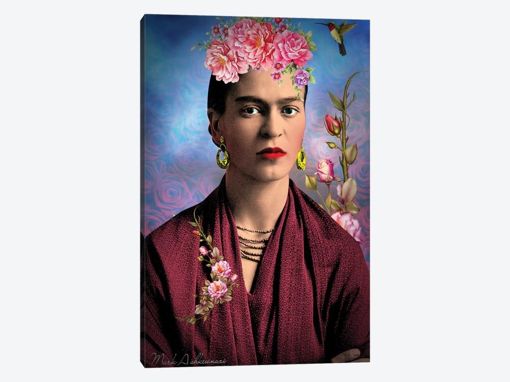 Frida Kahlo M by Mark Ashkenazi 1-piece Canvas Artwork
