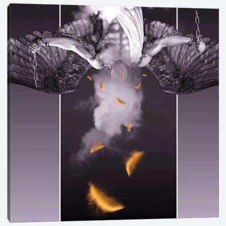 Gold Feather Angel Canvas Print #MKH34} by Mark Ashkenazi Canvas Art Print