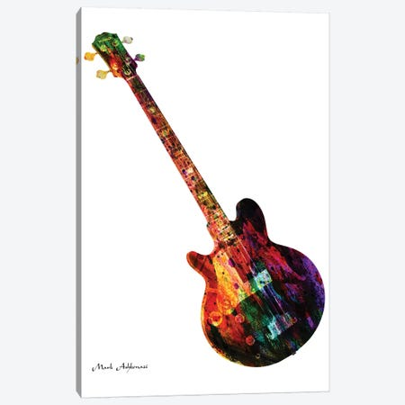 Guitar X Canvas Print #MKH38} by Mark Ashkenazi Canvas Art