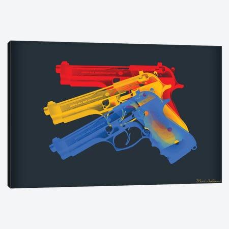 Guns Canvas Print #MKH41} by Mark Ashkenazi Canvas Art Print