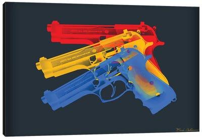 Guns Canvas Art Print