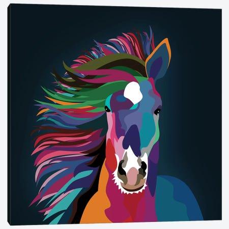 Horse Canvas Print #MKH44} by Mark Ashkenazi Canvas Art