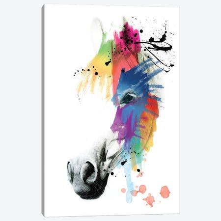 Horse Portrait Canvas Print #MKH46} by Mark Ashkenazi Canvas Wall Art