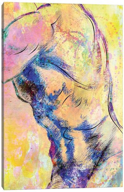 Abstract Body VI Canvas Art Print