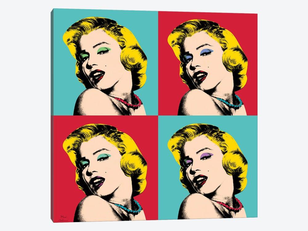 Marilyn Monroe Pop Art by Mark Ashkenazi 1-piece Canvas Wall Art