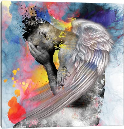 Angel Man Canvas Art Print