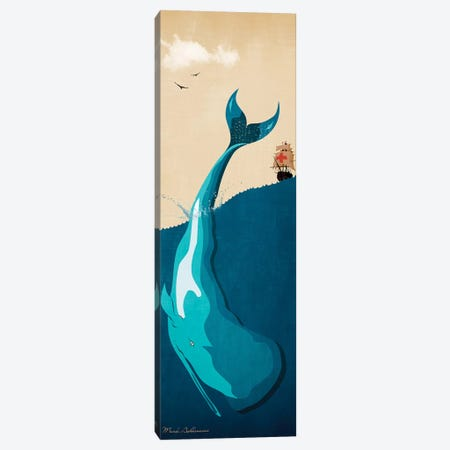 Moby Dick I Canvas Print #MKH72} by Mark Ashkenazi Canvas Artwork