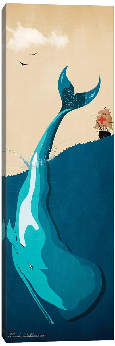Moby Dick I Canvas Art Print