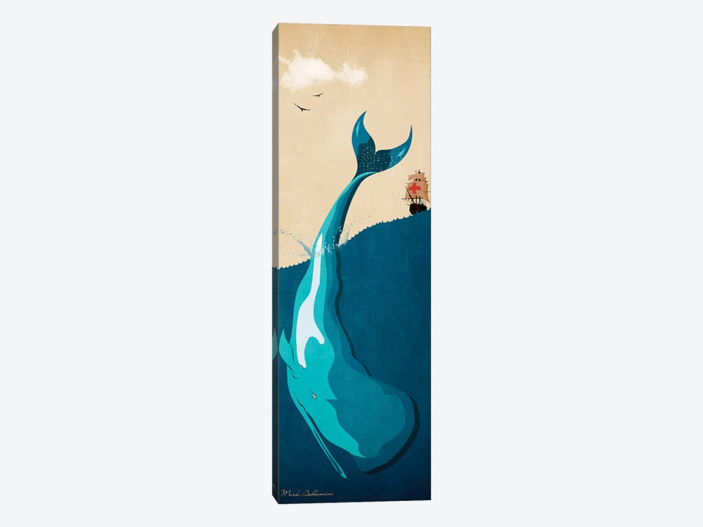 Moby Dick I by Mark Ashkenazi 1-piece Canvas Artwork