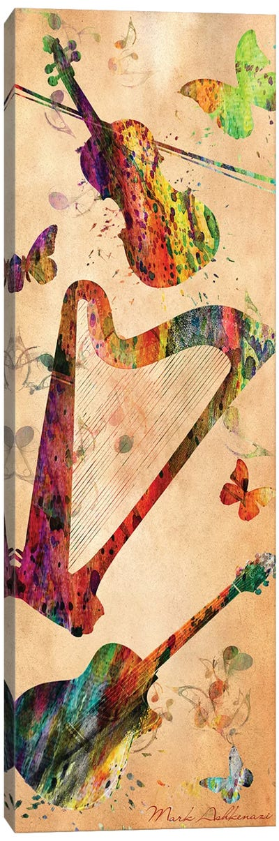 Music III Canvas Art Print