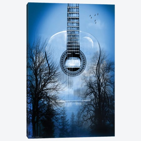 Mystic Music Night Canvas Print #MKH76} by Mark Ashkenazi Canvas Art Print
