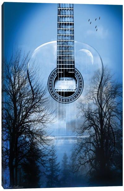 Mystic Music Night Canvas Art Print