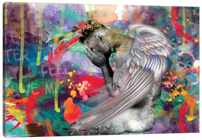 Angel Man II Canvas Art Print