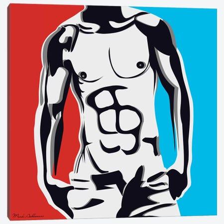 Pop Art Body Canvas Print #MKH89} by Mark Ashkenazi Canvas Print