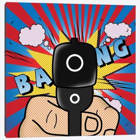 Bang Bang Canvas Print #MKH8} by Mark Ashkenazi Art Print
